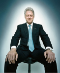 Bill Clinton for Esquire cover
